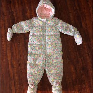 Baby Gap Down filled SnowSuit Sz 12-18 mos NEW